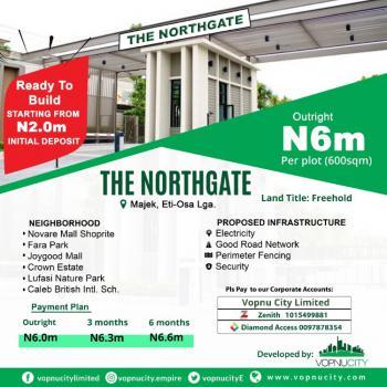 Estate Land, After Fara Park Estate, Sangotedo, Ajah, Lagos, Residential Land for Sale