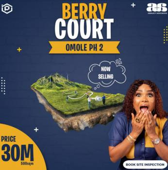 Build Where It Matters, Berry Court, Omole Phase 2, Ikeja, Lagos, Residential Land for Sale