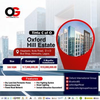 Certificate of Occupancy, Alagbado, Ifako-ijaiye, Lagos, Residential Land for Rent