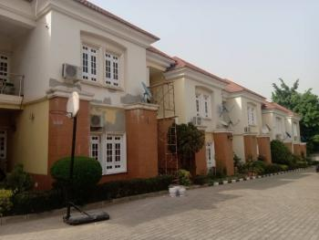 Well Finished 4 Bedroom Terrace House with a Room Bq, Sapele Crescent, Garki, Abuja, Terraced Duplex for Rent