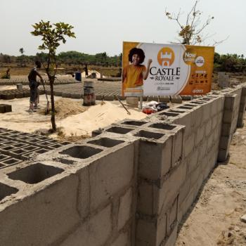 Most Affordable Real Estate Investment Property, Castle Royal Estate, Ode Omi, Ibeju Lekki, Lagos, Residential Land for Sale