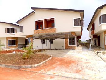 Very Big Compound, 4 Bedrooms Semi Detached Duplex with Bq + 24 Hours Power, Beside Vgc, Lekki, Lagos, Semi-detached Duplex for Sale