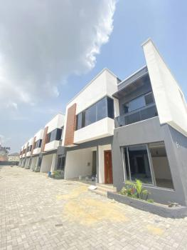 Brand New 4 Bedrooms Terraced Duplexes with Bq, Osapa, Lekki, Lagos, Terraced Duplex for Sale