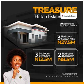 Plots of Land in a Developed Environment, Treasure Hilltop Estate, Alagbado, Ifako-ijaiye, Lagos, Mixed-use Land for Sale