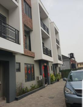 a Brand New 4 Bedroom Terrace in an Estate, Adeniyi Jones, Ikeja, Lagos, Terraced Duplex for Sale
