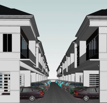 Luxurious Terraces with Bq in Prime Location, Orchid Road, Opposite The Grace Event Centre, Lekki Phase 2, Lekki, Lagos, Terraced Duplex for Sale