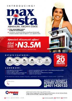 Plots of Land, Max Vista By Goodluck Ebele Jonathan Boulevard Ohiaebia Idembia Isieke, Abakaliki, Ebonyi, Commercial Land for Sale