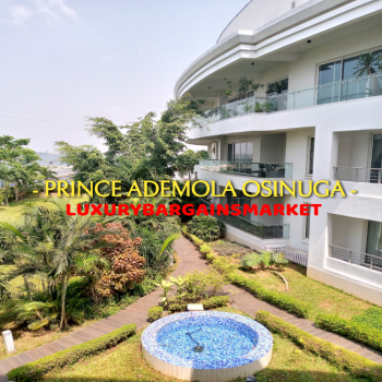 Wow Deal! Most Luxurious Waterfront Apartment in The Estate! Period!, Banana Island Estate, Banana Island, Ikoyi, Lagos, Flat for Rent