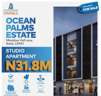 Beautiful Studio Apartment, Ocean Palms Estate, Ikate, Lekki, Lagos, Self Contained (single Rooms) for Sale