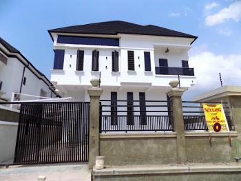 New House Spacious 5 Bedrooms Fully Detached Duplex with Bq, Chevron, Lekki, Lagos, Detached Duplex for Sale