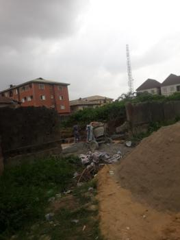 Half Plot of Land in a Serene and Secured Estate, Canal Estate, Ago Palace, Isolo, Lagos, Residential Land for Sale