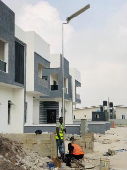 4 Bedroom Fully Detached Duplex with Bq, Bogije in an Estate Facing Expressway, Sangotedo, Ajah, Lagos, Detached Duplex for Sale