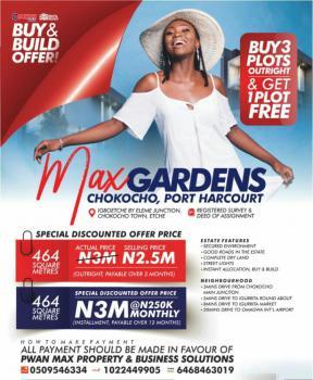 Land, Max Gardens, Chokocho, Port Harcourt, Rivers, Mixed-use Land for Sale