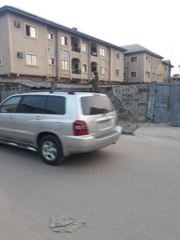 Bare Land of 1 & Half Plot with Already Pilled Foundation on a Tarred Road, Off Ago Palace, Isolo, Lagos, Mixed-use Land for Sale