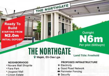 Ready to Build Estate Land in a Developed Environment, Majek Few Minutes From Shoprite, Sangotedo, Ajah, Lagos, Residential Land for Sale
