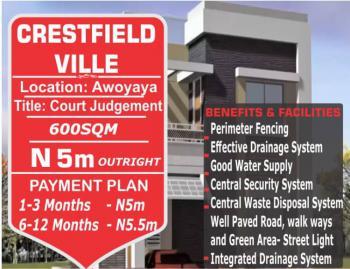 Estate Land, Awoyaya, Sangotedo, Ajah, Lagos, Residential Land for Sale