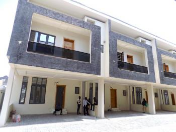 New House 4 Bedroom Terraced Duplex with 24 Hours Electricity, Chevron, Lekki, Lagos, Terraced Duplex for Rent