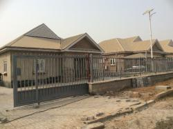 Brand New 3 Bedroom Bungalow with Space for Bq, Voice of Nigeria Estate, Lugbe District, Abuja, Detached Bungalow for Sale