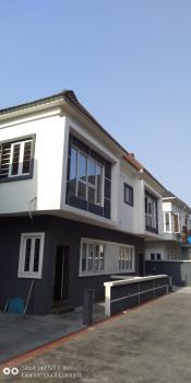 4 Bedrooms Semi Detached Duplex Newly Built with Bq, By Chevron, Agungi, Lekki, Lagos, Semi-detached Duplex for Sale