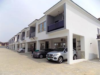 New House, 4 Bedrooms Terraced Duplex with 24 Hours Electricity, Ikate Elegushi, Lekki, Lagos, Terraced Duplex for Rent