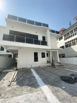 Luxury Newly Built 2 Units of 5 Bedroom with Bq, Lakeview Estate in Orchid, Lekki, Lagos, Semi-detached Duplex for Sale