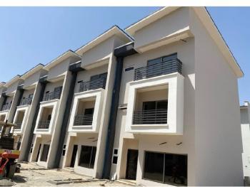 Newly Built 4 Bedroom Duplex with a Bq, Wuye, Abuja, Terraced Duplex for Sale