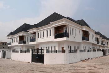 Excellent 4 Bedroom Semi-detached Duplex with Bq, Corner Piece Unit., Vgc, Lekki, Lagos, Flat / Apartment for Sale