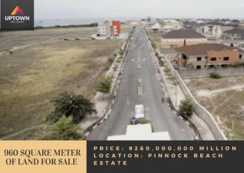 960 Square Meter of Land, Pinnock Beach Estate, Agungi, Lekki, Lagos, Residential Land for Sale
