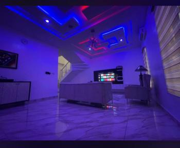 a Luxurious 4 Bedroom Stand-alone Apartment & Party House, Chevyview, Lekki, Lagos, Detached Duplex Short Let