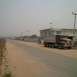 Partly Fenced Vacant Industrial Landuse, By Total and Pz After Berger Yard, Idu Industrial, Abuja, Industrial Land for Sale