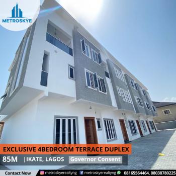 Luxury 4 Bedroom Terrace Duplex Now Available, Ikate, Lekki, Lagos, Detached Duplex for Sale