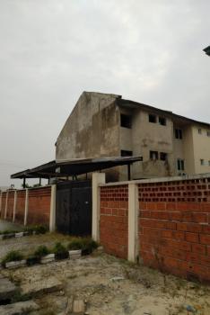 5 Bedroom Terraced Duplex (carcass), Agungi, Lekki, Lagos, Terraced Duplex for Sale