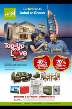 Adron Top Up Your Love Promo, Imota, Lagos, Residential Land for Sale