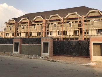 Upscale, Cityview & Urban Oasis: 4 Bedrooms Terrace House with Bq, Off Ahmadu Bello Way Near Naval Senior Quarters, Jahi, Abuja, Terraced Duplex for Sale