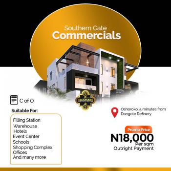 Commercial Land Suitable for Fuel Station, Warehouse, Hotels Event Etc, Free Trade Zone, Ibeju Lekki, Lagos, Plaza / Complex / Mall for Sale