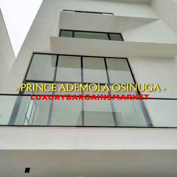 Newly Built 3 Nos 5 Bedroom Detached House + Elevator, Private Pool, Old Ikoyi, Ikoyi, Lagos, Detached Duplex for Rent
