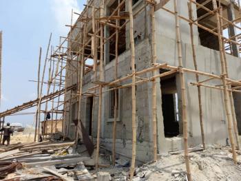 Amazing 2 Bedroom Flat with Bq, Skyeview Housing Scheme Adjacent Novare Mall, Sangotedo, Ajah, Lagos, Detached Duplex for Sale