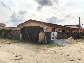 2 Plots of Land(corner Piece) with a Bungalow, Greenville Estate, Badore, Ajah, Lagos, Residential Land for Sale