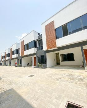 Luxury 4 Bedroom Terrace Duplex with a Room Bq, Osapa, Lekki, Lagos, Terraced Duplex for Sale