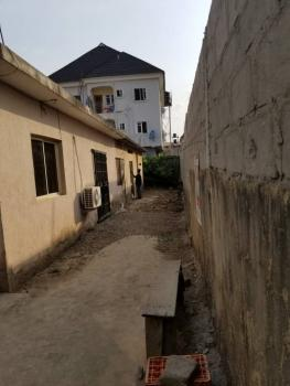 Cornerpiece Land with a Solid Structure with a Decking at Market Squar, Market Square, Idowu Rufai Street, Ago Palace, Isolo, Lagos, Mixed-use Land for Sale