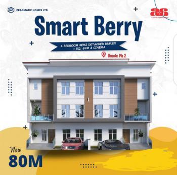 4 Bedroom Semi Detached Duplex with Bq, Omole Phase 2, Ikeja, Lagos, Semi-detached Duplex for Sale