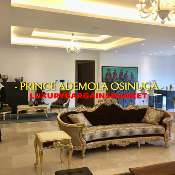 Best Fully Furnished 5 Bedroom Penthouse Apartment on 2 Floors!, Off Adeola Odeku Street, Victoria Island (vi), Lagos, Flat / Apartment for Rent