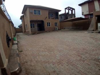 Executive 4 Bedroom Duplex with Bq on 900sqm Land, Shagari Estate, Egbeda, Alimosho, Lagos, Detached Duplex for Sale