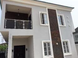 Premium,huge,luxurious And Well Finished 5 Bedroom Fully Detached House With A Room Bq., Chevy View Estate, Lekki, Lagos, 5 bedroom, 6 toilets, 5 baths Detached Duplex for Sale