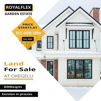 an Estate Facing a Tarred Road, Royalflex Garden Estate Okegelu in a Free Trade Zone, Lekki Free Trade Zone, Lekki, Lagos, Mixed-use Land for Sale