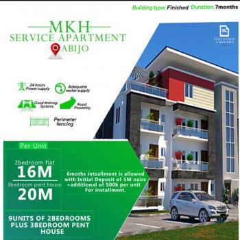 Luxury 3 Bedroom Pent House, Mkh Service Apartment, Abijo, Lekki, Lagos, Terraced Duplex for Sale