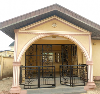 Vacant 4 Bedroom Bungalow, Gowon Estate, Egbeda, Alimosho, Lagos, Detached Bungalow for Sale
