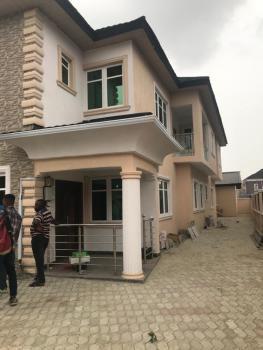 Four-bedroom Semi-detached Duplex with Bq, Diamond Estates Shoprite Road, Sangotedo, Ajah, Lagos, Semi-detached Duplex for Rent