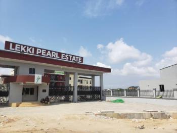 4 Bedroom Terrace with Bq, Lekki Pearl Estate, Back of Blenco Supermarket, Sangotedo, Ajah, Lagos, Terraced Duplex for Sale