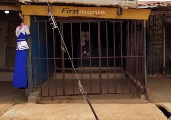 Strategicaly Located Shop, Motor Park, Utako, Abuja, Shop for Sale